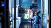 LOVELESS_ Zhenya (Maryana Spyvak) und Alyosha (Matvey Novikov) in der Küche