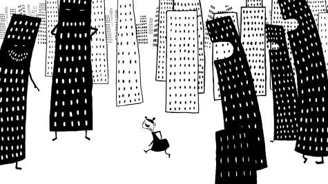 Fröken-Märkvärdig-jagas-av-skyskrapor